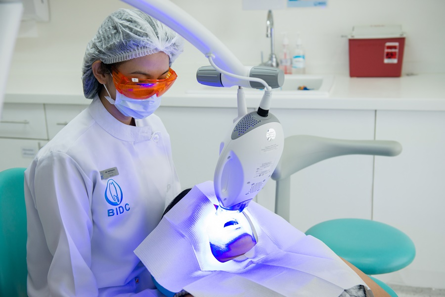 Laser Tooth Whitening